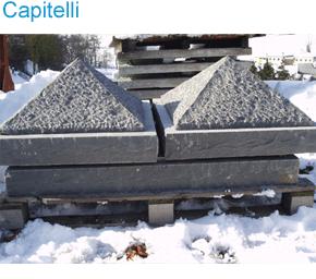 capitelli in pietra Reggio Emilia