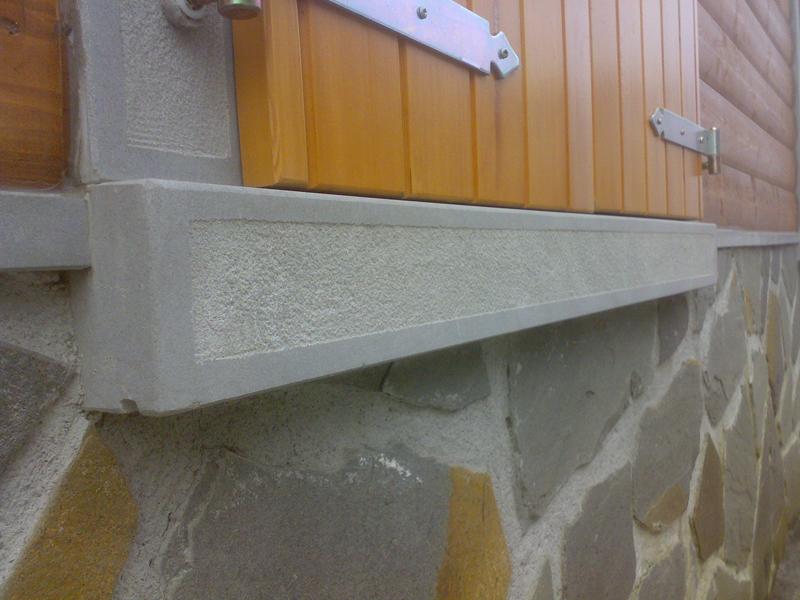 Realizzazione davanzali in pietra e marmo a reggio parma for Davanzali in pietra serena
