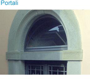 realizzazione portali in pietra