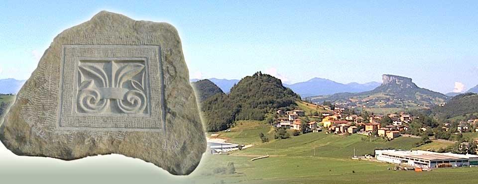 Lavorazione e scultura della pietra arenaria dell'Appennino reggiano