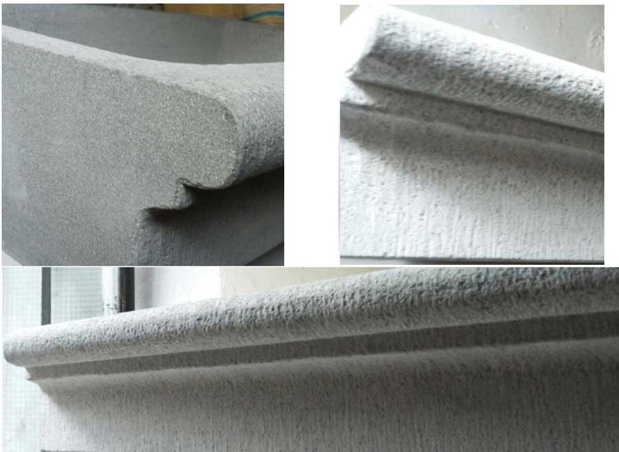 Soglie finestre in pietra cemento armato precompresso - Soglie per finestre ...